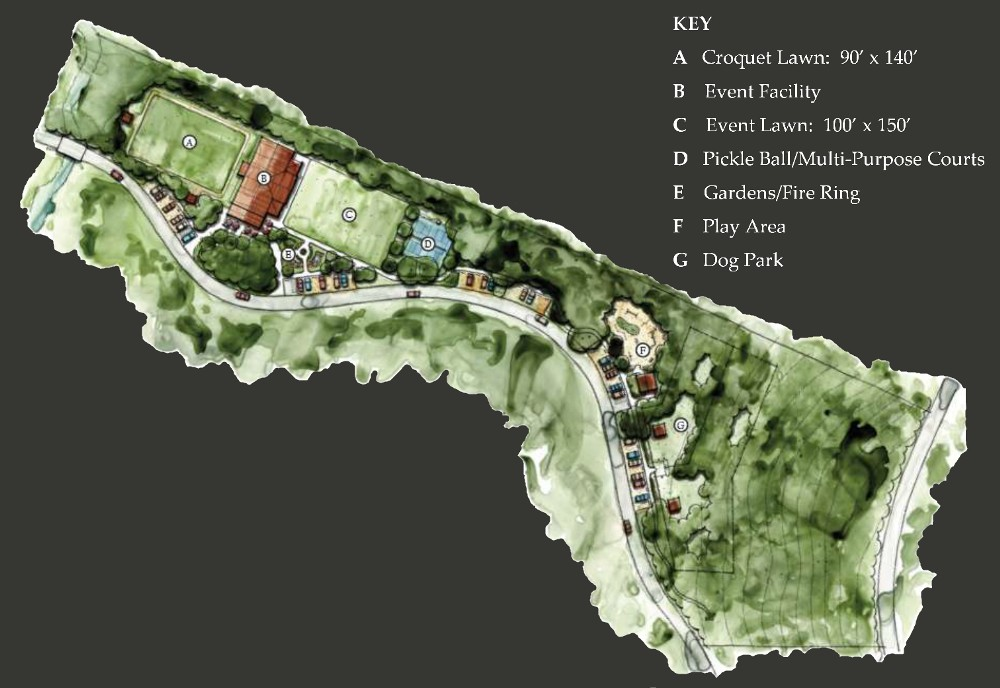 Hurricane Creek Village Site Plan